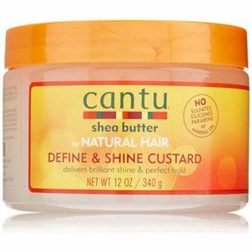 6 Pack - Cantu Define & Shine Custard 12 oz