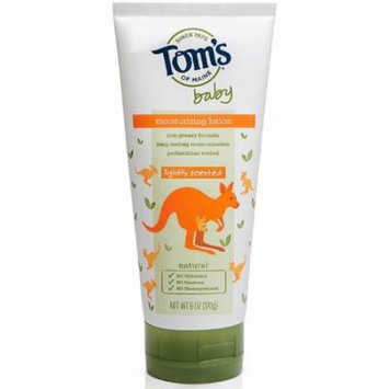 6 Pack - Tom's of Maine Baby Moisturizing Lotion, Lightly Scented 6 oz