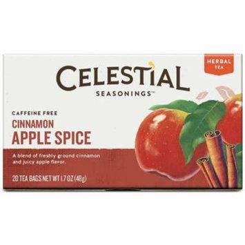 4 Pack - Celestial Seasonings Tea Caffeine Free Herbal Tea, Cinnamon Apple Spice 20 ea