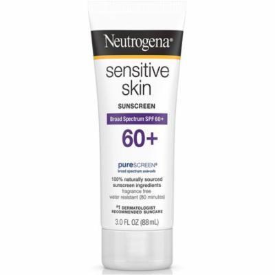 3 Pack - Neutrogena Sensitive Skin Sunscreen Lotion SPF 60+ 3 oz