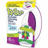 Kandoo Flushable Cleaning Wipes, Magic Melon 50 ea