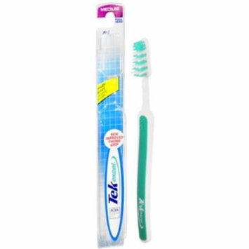 6 Pack - Tek Excel Toothbrush Full Head Medium 1 Each