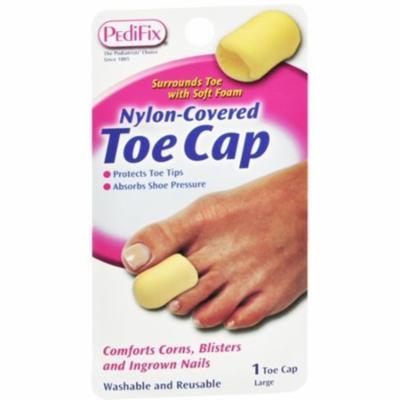 2 Pack - PediFix Nylon-Covered Toe Cap Large 1 Each