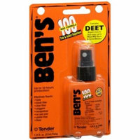 3 Pack - Ben's 100 Max Formula Tick and Insect Repellant 1.25 oz