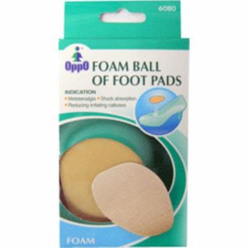 3 Pack - Oppo Foam Ball of Foot Pads [6080] 1 Pair