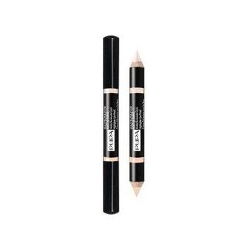 Pupa Duo Highlighter Matt & Shine, Illuminating Eye Pencil (002 NUDE)