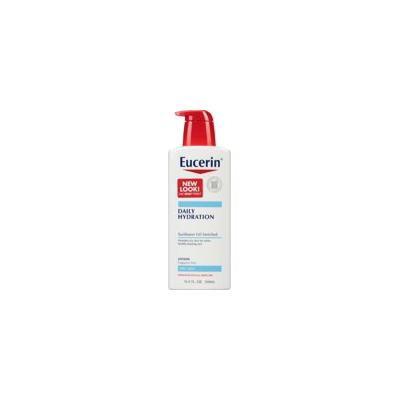 4 Pack - Eucerin Daily Hydration Moisturizing Lotion, Fragrance Free 16.9 oz