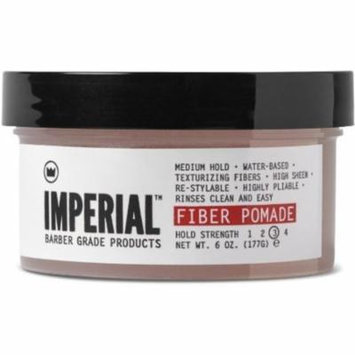 6 Pack - Imperial Barber Products Fiber Pomade 6 oz