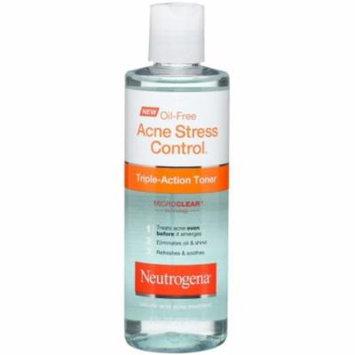 4 Pack - Neutrogena Oil-Free Acne Stress Control Triple Action Toner 8 oz