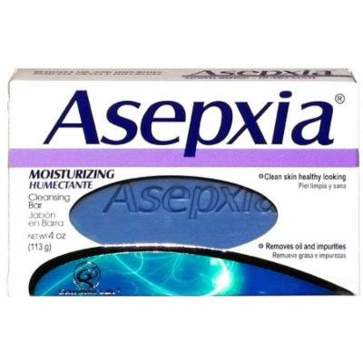 3 Pack - Asepxia Moisturizing Cleansing Bar Soap 4 oz