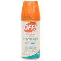 3 Pack - OFF! Family Care Smooth & Dry Insect Repellent 2.5 oz