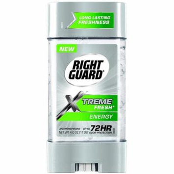 Right Guard Xtreme Fresh Gel Antiperspirant, Energy 4 oz
