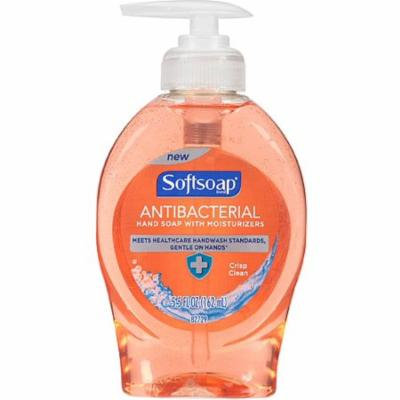 4 Pack - Softsoap Antibacterial Hand Soap with Moisturizers, Crisp Clean 5.50 oz