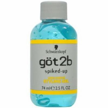 2 Pack - got2b Spiked-Up Max-Control Styling Gel 2.50 oz
