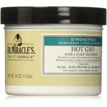 4 Pack - Dr. Miracle's Strengthen Hot Hair & Scalp Treatment, 4 oz