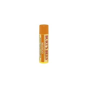 3 Pack - Burt's Bees Moisturizing Lip Balm, Mango 0.15 oz