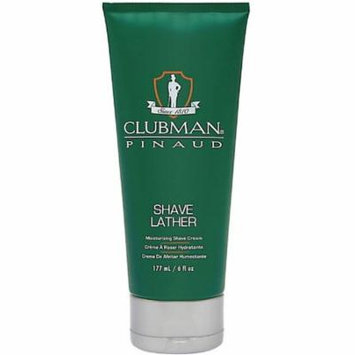 4 Pack - Clubman Pinaud Shave Lather Moisurizing Shave Cream 6 oz