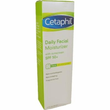 Cetaphil Daily Facial Moisturizer for All Skin Types, with Sunscreen SPF 50 1.7 oz