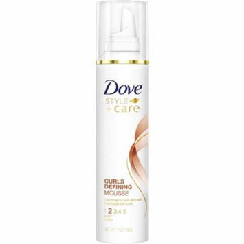 3 Pack - Dove STYLE+care Curls Defining Mousse, Soft Hold 7 oz