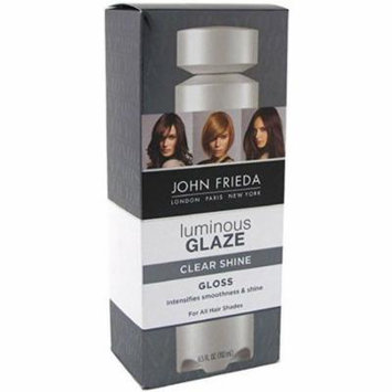2 Pack - John Frieda Luminous Glaze Clear Shine Gloss 6.5 oz