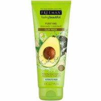 3 Pack - Freeman Feeling Beautiful Facial Clay Masque Avocado & Oatmeal 6 oz