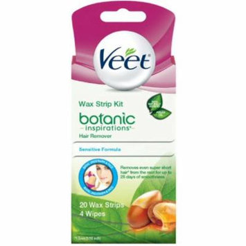 6 Pack - Veet Body, Bikini and Face Hair Remover Wax Kit, 20 ct