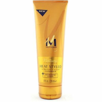 6 Pack - Motions Natural Textures Heat Styled Straight Finish Cleanser, 8 oz