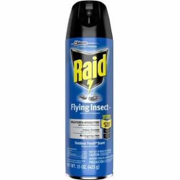 4 Pack - Raid Flying Insect Killer Spray 15 oz