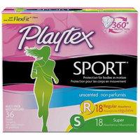 2 Pack - Playtex Sport Unscented Multi-Pack Tampons 36 ea