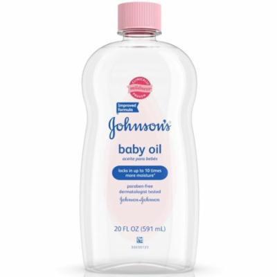 2 Pack - JOHNSON'S Baby Oil 20 oz