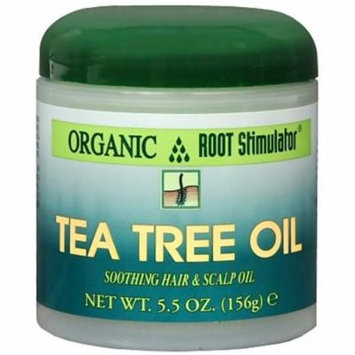 6 Pack - Organic Root Stimulator Tea Tree Hair and Scalp Oil, 5.5 oz