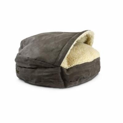 Snoozer Luxury Orthopedic Cozy Cave Pet Bed, X-Large, Dark Chocolate