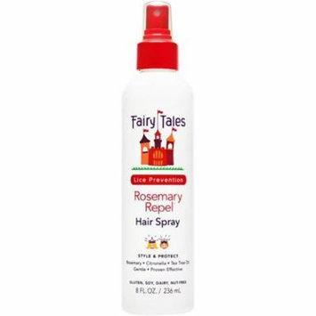 4 Pack - Fairy Tales Rosemary Repel Hair Spray, 8 oz