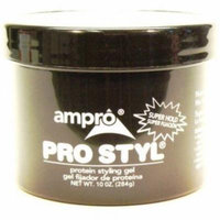 3 Pack - Ampro Protein Styling Gel, Super Hold 10 oz