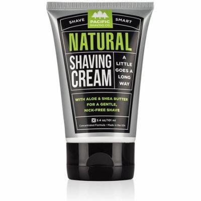 Pacific Shaving Company All Natural Shaving Cream 3 oz