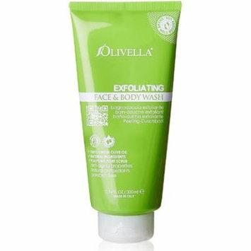 Olivella Exfoliating Face and Body Wash 10.14 oz