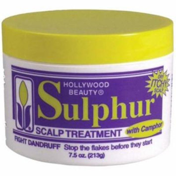 2 Pack - Hollywood Beauty Sulpher Scalp Treatment, 7.5 oz