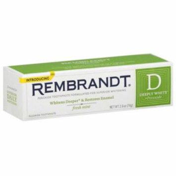 6 Pack - Rembrandt Plus Toothpaste Fresh Mint 2.60 oz