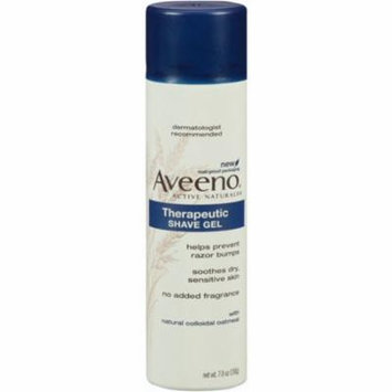 2 Pack - AVEENO Therapeutic Shave Gel 7 oz
