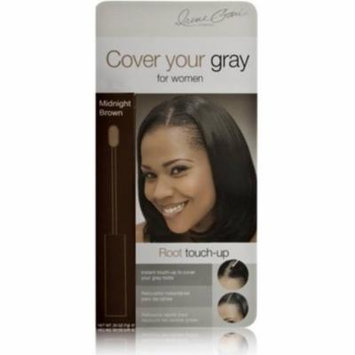 4 Pack - Cover Your Gray Root Touch Up, Midnight Brown, 0.25 oz