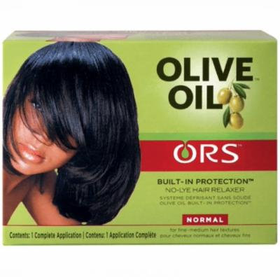 2 Pack - ORS Olive Oil No Lye Relaxer Kit, Normal 1 ea