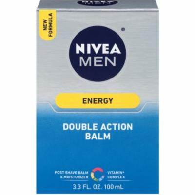 6 Pack - NIVEA FOR MEN Energy, Double Action Balm 3.30 oz