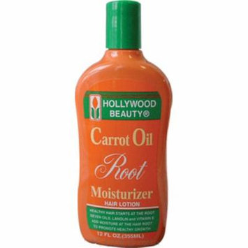4 Pack - Hollywood Beauty Carrot Oil Root Moisturizer, 12 oz