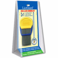 2 Pack - LiceGuard Egg & Lice Combing Kit 1 ea