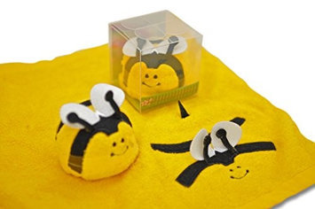Couture Towel CT-TPBB001501 14 x 13 in. Blitz The Bee Towel Bumble Bee Yellow