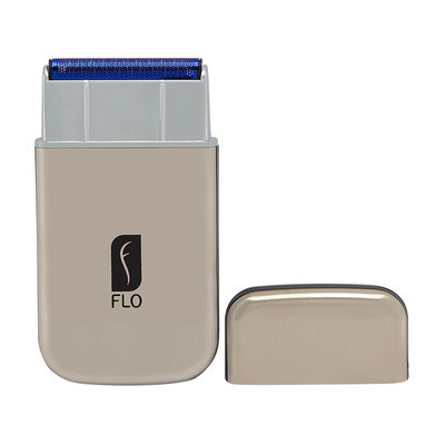 Flo USB Travel Shaver with Cable Silver