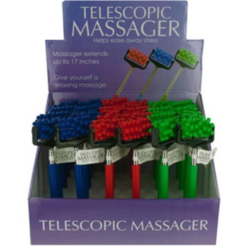 DDI 2269533 Telescopic Massager Countertop Display - Case of 24