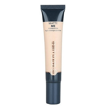 Beauty Glazed Foundation Primer Matte Me Foundation High Coverage+Poreless Flawless Looking Coverage Smooths Face Primer