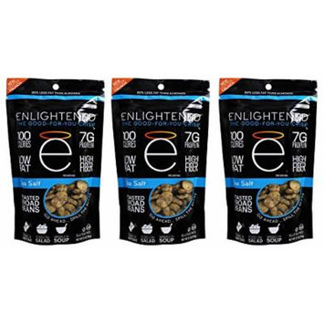 Enlightened - The Good-For-You Crisp, Roasted Broad Beans, Sea Salt, 4.5 Ounce (3-pack)