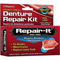 6 Pack - D.O.C. Repair-It Advanced Formula Denture Repair Kit 3 ea